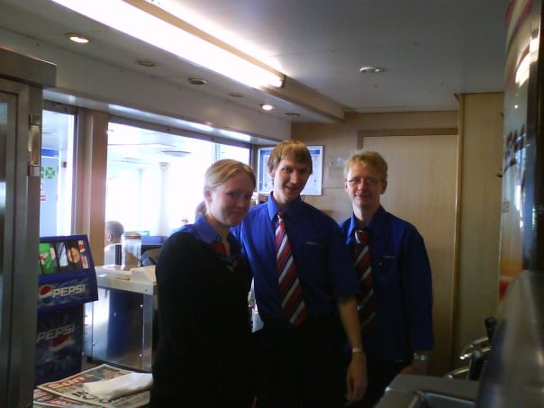 Wightlink ferries stewards
