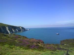 Needles Isle of Wight Wightlink Ferries