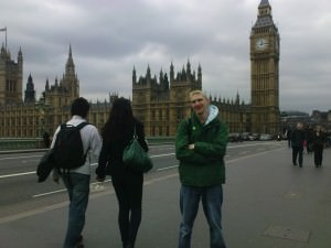 Jonny Blair at Westminster London England