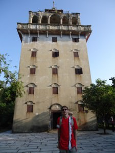 kaiping diaolou tour tianlu tower