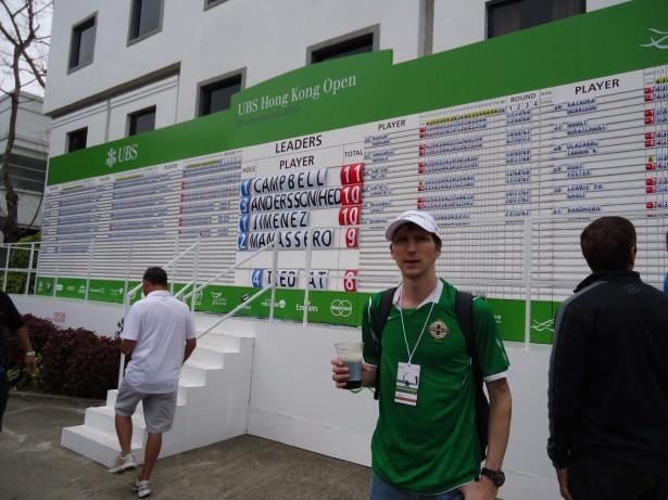 Hong Kong Golf open dont stop living