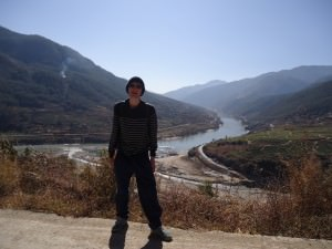 Jonny Blair on the Upper Trail Hike