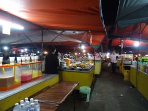 Friday's Featured Food - Kota Kinabalu night market