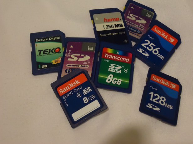 Always carry spare memory cards on your travels