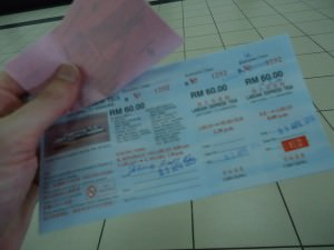 ticket from Kota Kinabalu to Brunei by ferry