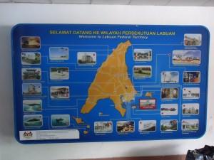 Labuan island to Brunei ferry Malaysia