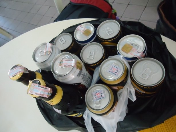 Alcohol allowance for Brunei - I took 12 beers in