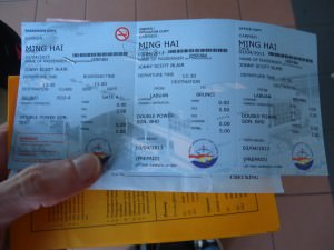 Departure tax from Malaysia to Brunei at Labuan