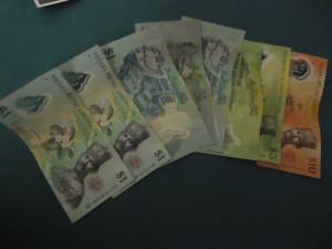 They use Brunei Dollars in Brunei