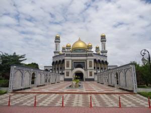 Biggest mosque in Brunei Jame Asr Hassanil Bolkiah
