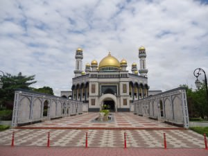Biggest mosque in Brunei Jame Asr Hassanil Bolkiah