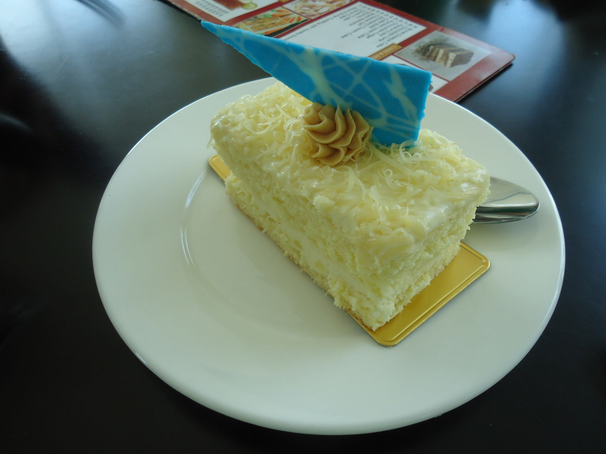 Brunei Cheesecake in Dermaga Cafe Bandar Seri Begawan Brunei