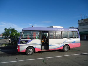 bus from muara to serasa