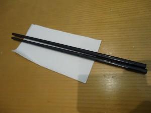 Using chopsticks travel essentials