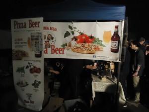 Mamma Mia Pizza Beer at Beertopia