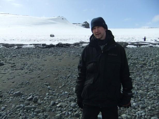 Beach on Barrientos Aitcho Islands Antarctica cheap trips to Antarctica