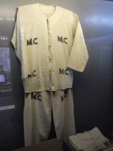prisoners uniform in Hanoi Hilton Hoa Lo Prison Vietnam