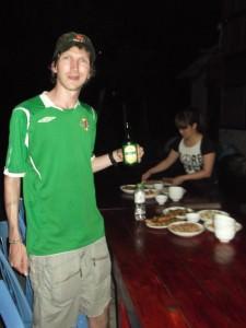 Jonny Blair in Vietnam at Ta Van homestay