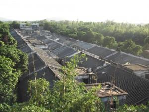 view over majinaglong village kaiping china