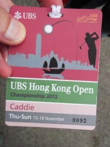 backstage at the Hong Kong Open 2012