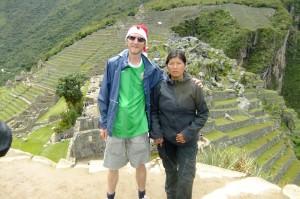 Machu Picchu Peru with Sonja Christmas Day a lifestyle of travel