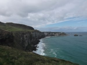 north antrim coast in Northern Ireland