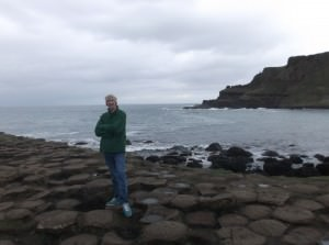 Jonny Blair of Dont Stop Living at Giants Causeway Northern Ireland