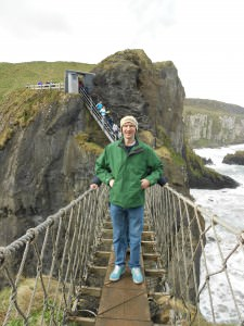 Jonny Blair Carrick a Rede Rope Bridge Northern Ireland