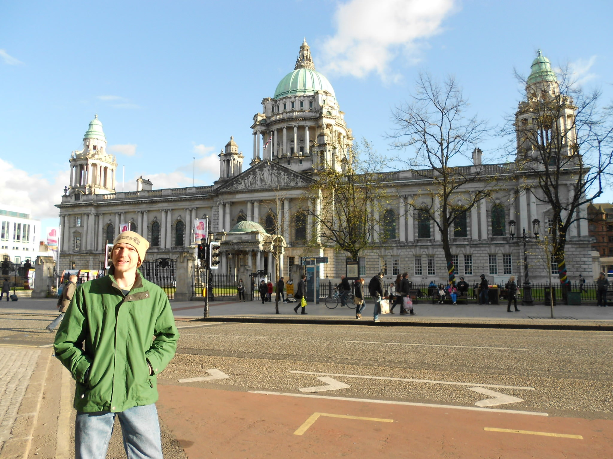 top 5 European cities Belfast