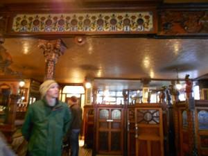 Jonny Blair in the Crown Bar Belfast Northern Ireland