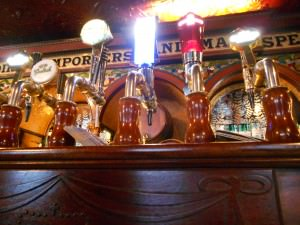 bar taps in the Crown Belfast