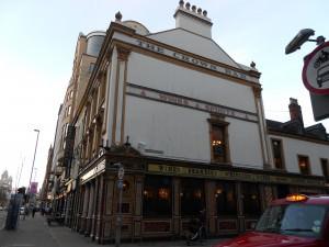 Crown Bar on the corner Great Victoria Street Belfast