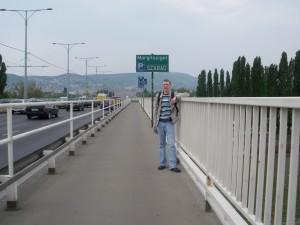 Jonny Blair in Budapest Hungary