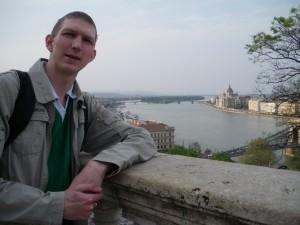 Jonny Blair in Budapest Hungary 2009