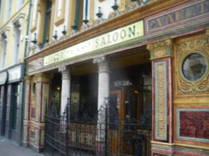 Crown Bar in Belfast Northern Ireland great place - a lifestyle of travel
