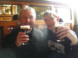 Guinness in the Crown Belfast