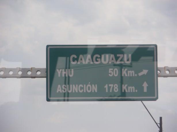 Ciudad del Este to Asuncion Paraguay