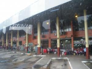Asuncion bus station Paraguay