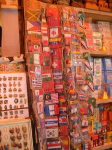 Iron on country flag patches in La Paz Bolivia