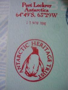 Antarctica passport stamp Port Lockroy dont stop living a lifestyle of travel