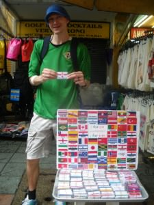 Northern Ireland iron on flag patches in Bangkok Thailand