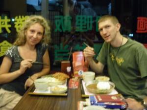 Chopsticks in Shinying Taiwan
