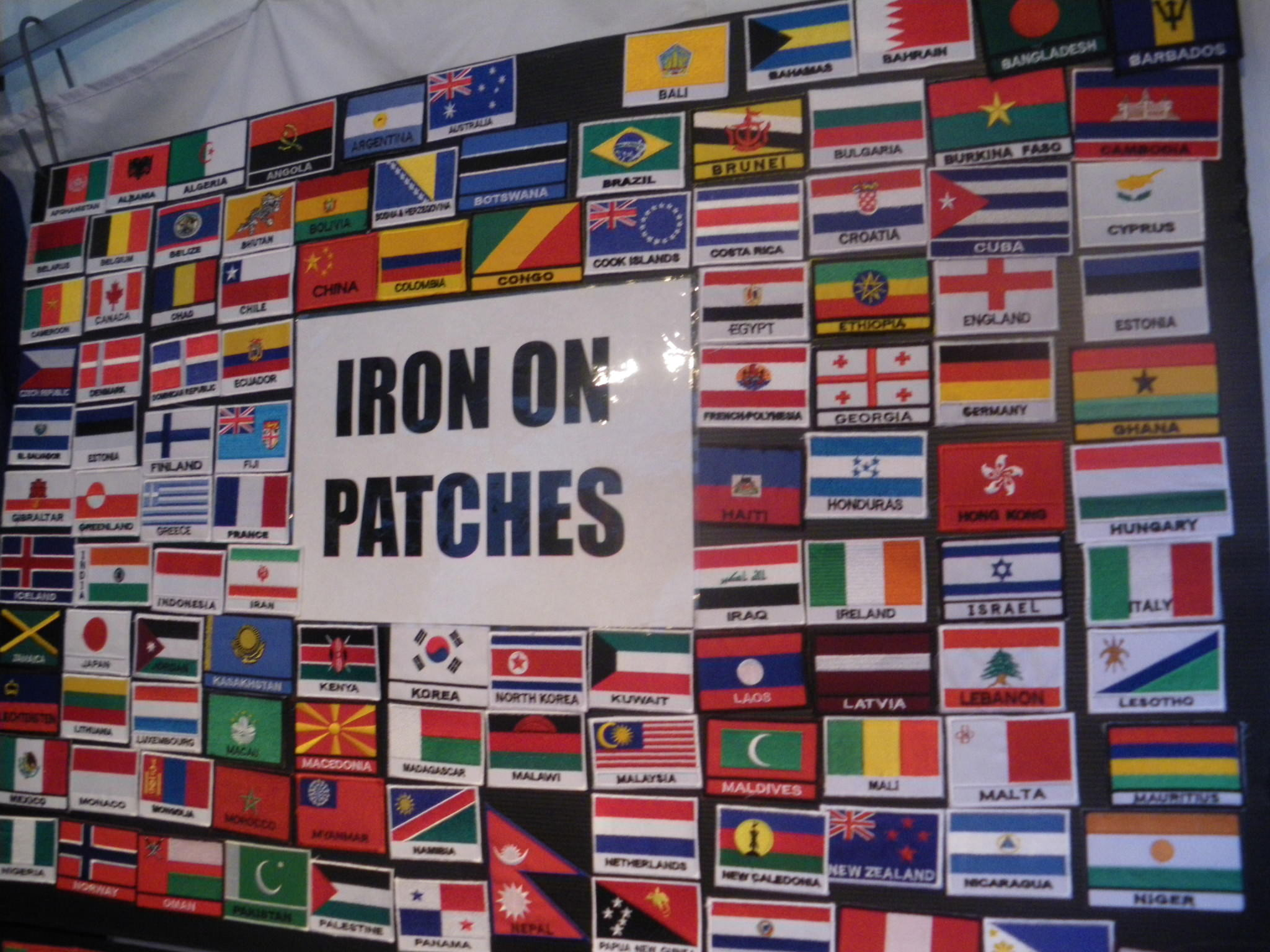 flags around the world backpack images