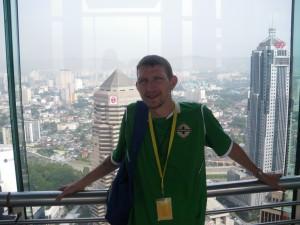 free view of Kuala Lumpur Petronas Twin Towers