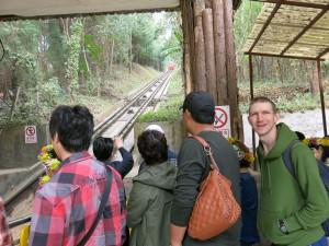Cable Car Jiulong Waterfalls Luoping Yunnan China