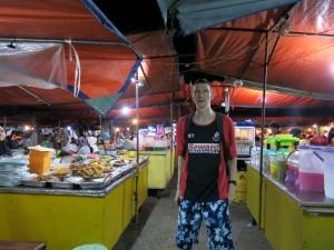 Kota kinabalu seafront market