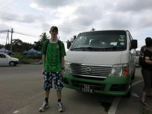 Bus to Klias Wetlands Park