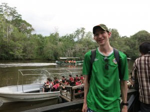Rivers and jungles in Borneo for monkey watching