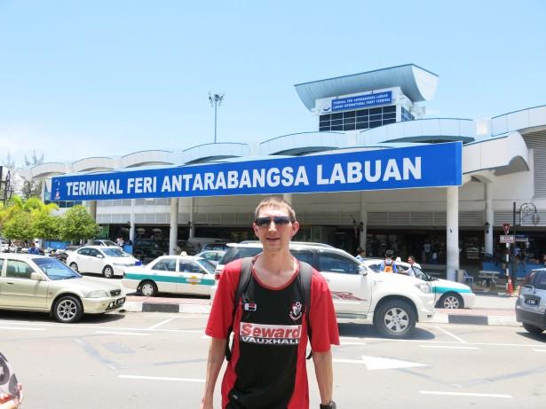Labuan ferry terminal Malaysia