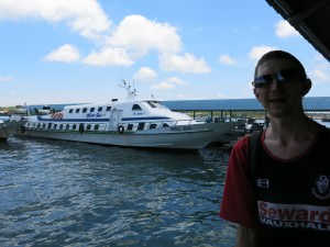 Labuan to Brunei ferry Ming Hai to Serasa